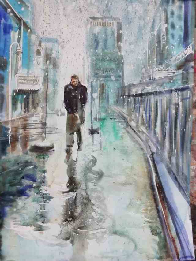 James Dean Watercolour